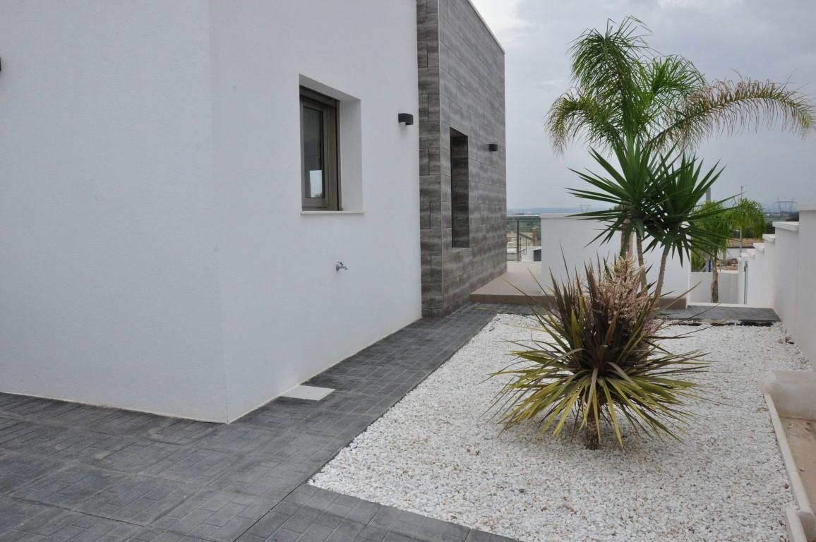 Tuin aan de zijkant