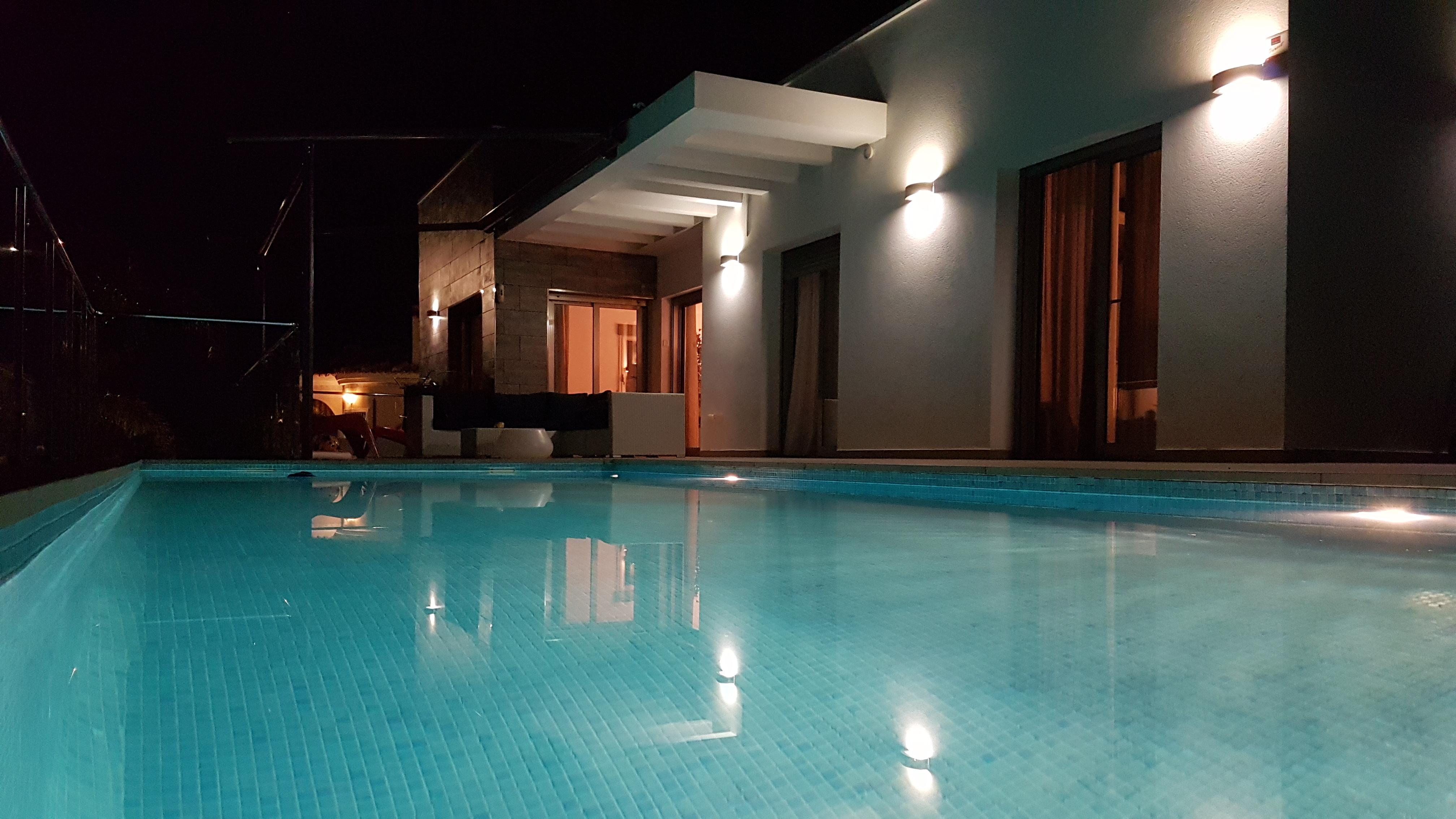 Zwembad-verlichting